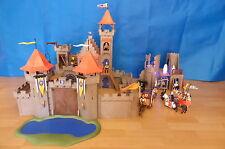 Playmoibil 3268 Königs Ritterburg + Ruine + viele Figuren und ZBH
