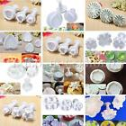 Cookie Flower Cutter Cake Decorating Sugarcraft Fondant Plunger Mould Mold Tools