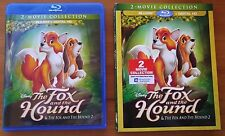 The Fox and the Hound / Fox and the Hound 2 (Blu-ray, 2017)  - No Digital