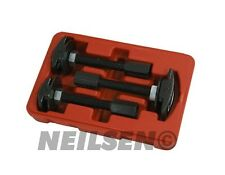 3 Piece Car Auto Repair Rear Axle Bearing Puller Extractor Garage Tool Set New