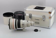 EXCELLENT+++++!!! Canon EF 400mm F2.8 L USM White Aluminum Case From Japan #0922