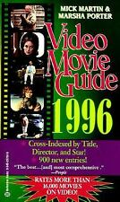 Video Movie Guide 1996 by Marsha Porter and Mick Martin (1995, Paperback)