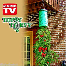 TOPSY TURVY UPSIDE DOWN HANGING TOMATO PLANTER SYSTEM,GROW ALL SEASON LONG,NEW