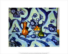 Henry Matisse Still Life with tablecloth poster stampa d'arte immagine 28x36cm