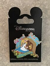 DISNEY PARIS DLP Alice In Wonderland Pin 65th Anniversary Pin LE 600 HTF