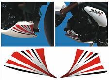 Adesivi squalo triumph speed 1050 2011 -adesivi/adhesives/stickers/decal