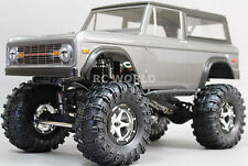 Axial SCX10 1/10th RC Truck  FORD BRONCO 4WD 2.2 Rock Crawler Metal Wheels *RTR*
