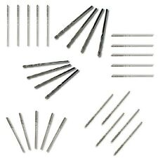 28 Small Metric Mixed Diamond Coated Twist Drills For Glass Soft Metal and Stone