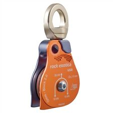 "Rock Exotica omniblock 2.0"" Single Pulley P53 plus Free auto locking carabiner"