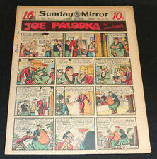 1949 Sunday Mirror Weekly Comic Section July 24th (Fine) Superman 1st App Killer