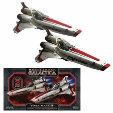 BATTLESTAR GALACTICA : COLONIAL VIPER MK. II 1:72 SCALE MOEBIUS MODEL KIT SET