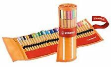 30 STABILO Point 88 Fineliner Ballpoint Pen Rollerset Art Wallet of 30