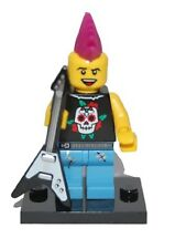 Genuine Lego 8804 Series 4 Minifigure no. 4 Punk Rocker