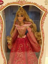 """Disney Store Sleeping Beauty Limited Edition Aurora Pink Dress 17"""" Doll LE 5,000"""