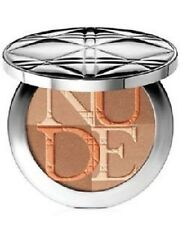 DIOR DIORSKIN NUDE SHIMMER ILLUMINATING POWDER 002 AMBER NEW