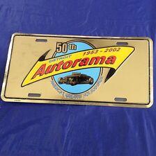 50th Annual Detroit Autorama License Plate