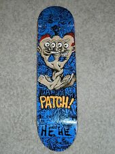 "NEW Clock Work PATCH Skateboard Deck 8"" X 32"" UNUSED RARE!!!"