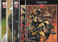 X FACTOR (2006)  LOT OF 5 - #26 #27 MESSIAH COMPLEX #28 #29 #30 (NM-)