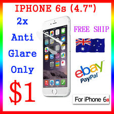 "2x Anti-Glare Screen Film Display Protector For Apple Guard iphone6s 4.7"" Au"