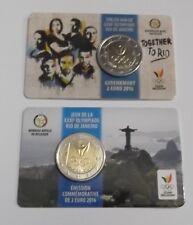 """Belgique - 2 Euro commémorative 2016 """" Jeux Olympiques Rio de Janeiro """""""