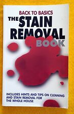 The Stain Removal Book: Cleaning Stain Removal Tips FREE AUS POST used paperback