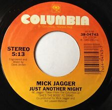 Mick Jagger 45 Just Another Night / Turn The Girl Loose