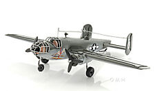 "B-25 Mitchell Bomber Metal Desk Model 13"" WWII Airplane Decor"