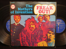 The Mothers of Invention - Freak Out! on Verve V6-5005-2 Gatefold 2LP STEREO