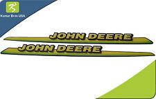 New John Deere LH & RH Upper Hood Decal Set M126040 M126041 GT225 GT235 LOW S/N