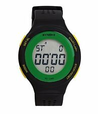 USPRO® LED Waterproof Swim Watch with Ventilate Strap Watch for Swimmers Green