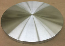 "TURNTABLE PLATTER *CUSTOM ORDERS WELCOME* 11"" DIA. X 3/8"" ALUMINUM USA!  *FLAT!"
