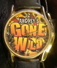 Nice Collectable  Argosy's Gone Wild Casino Gold Black Watch