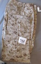 NWT USMC Desert Digital Camo Pants MCCUU, BDU, SIZE: SMALL LONG