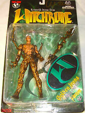 WITCHBLADE AUTOGRAPHED KENNETH IRONS GOLDEN IRONS NEOGENESIS ACTION FIGURE NEW