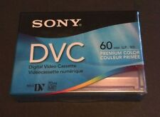 1 Sony Digital Video Cassette DVC Mini DV 70m 60 min Premium