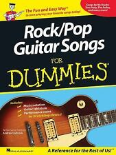 Rock/Pop Guitar Songs for Dummies, Andrew DuBrock, New Book