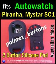fits Autowatch Piranha Maystar remote car immobiliser -2 Buttons repair key Pad
