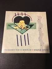 Simple Minds - Promised You A Miracle / Theme - vinyl - 1982 Virgin Records