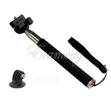 110cm Perche Télescopique Selfie Bâton Support pour Gopro Hero 2 3 3+ 4 Session