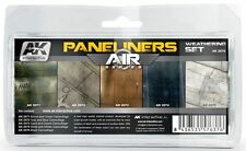 Ak Interactive AKI 2070 Air Series Panel Liner Weathering Set