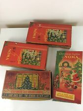 Lot of Vintage Noma Lights Strings Christmas