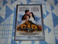El Cid   DVD  Charlton Heston,Sophia Loren