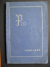 Buch Geschichte der Panzerabwehr-Abteilung 20 1936-1937