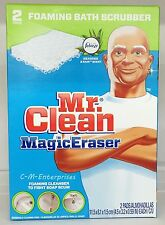 Mr Clean Magic Eraser Foaming Bath Scrubber 2 pads