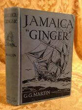 Jamaica Ginger Boy of Days of Clipper Ships Fine Binding Antique Book 1928