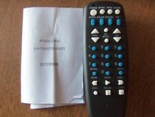 HY-HD06 4 in 1 Combo Universal Remote Control & Users Manual