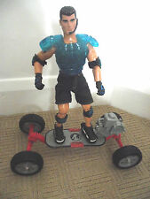 ACTION MAN FIGURE / WITH BOOGIE BOARD / WITH MOTOR ON / RARE