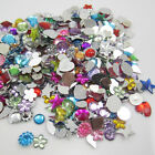 RANDOM for DIY Art crafts 7g(65-75PCS) Resin crystal FlatBack Scrapbooking OPAA