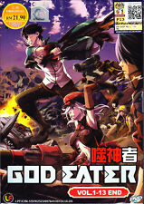 God Eater Anime DVD (Eps : 1 to 13 end) with English Subtitle