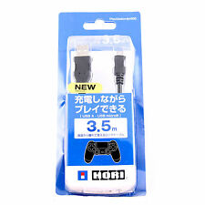 NEW PS4 USB TO MICRO USB CHARGE AND PLAY CABLE LEAD 3.5M LONG BLACK